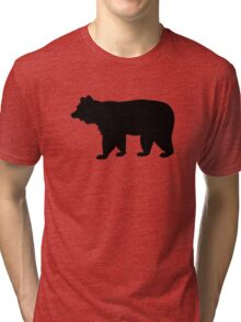 Black bear Tri-blend T-Shirt