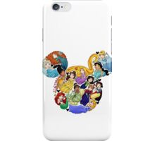 Princess Mickey Ears iPhone Case/Skin
