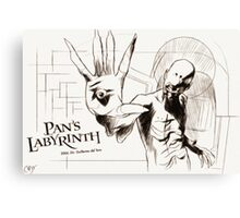 Pan's Labyrinth, El Laberinto Del Fauno Canvas Print