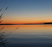 Drummond Island, MI  Sunset by Melissa Delaney