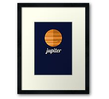 Planets - JUPITER Framed Print
