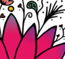 Lotus Flower Blossom Sticker