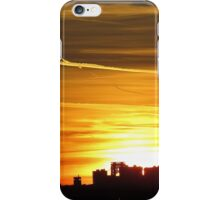 Painted sky, New York City  iPhone Case/Skin