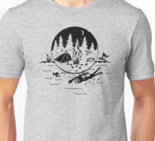 Diving In The Blue Ocean Unisex T-Shirt