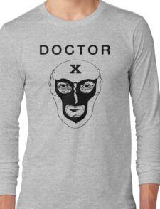 Doctor X Vintage Funny Cool Men's Tshirt Long Sleeve T-Shirt