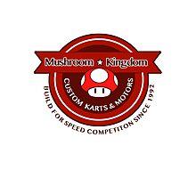 Mushroom Kingdom Custom Karts Photographic Print