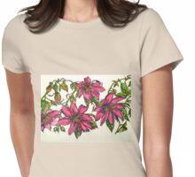 Passiflora Manicata 2. 2014© Womens Fitted T-Shirt