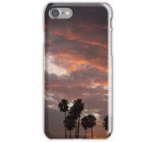 California Palm Sunset iPhone Case/Skin