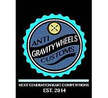 Anti Gravity Wheels Custom Photographic Print