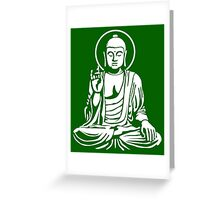 Young Buddha No.1 (white) Greeting Card