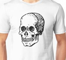 Old Retro Skull Unisex T-Shirt