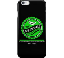 The Green Shell Body Shop & Garage iPhone Case/Skin