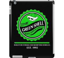 The Green Shell Body Shop & Garage iPad Case/Skin