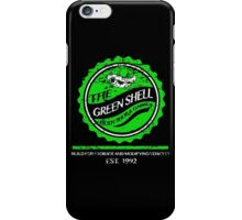 The Green Shell Body Shop & Garage (Distressed Version) iPhone Case/Skin