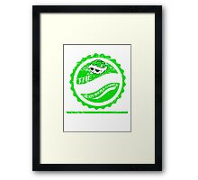 The Green Shell Body Shop & Garage (Distressed Version) Framed Print