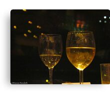 A toast Canvas Print