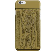 Zodiac Calendar....circa 1495! iPhone Case/Skin