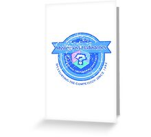 Mysterious Industries (Distressed Version) Greeting Card