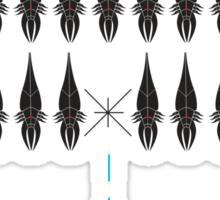 Mass Invader Sticker