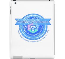 Mysterious Industries (Distressed Version) iPad Case/Skin