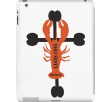 Lobster On a Cross Two iPad Case/Skin