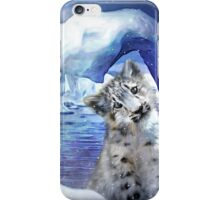 Snow Leopard - Heart Warmer iPhone Case/Skin