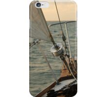 Sailboat Bow on the Open Water iPhone Case/Skin