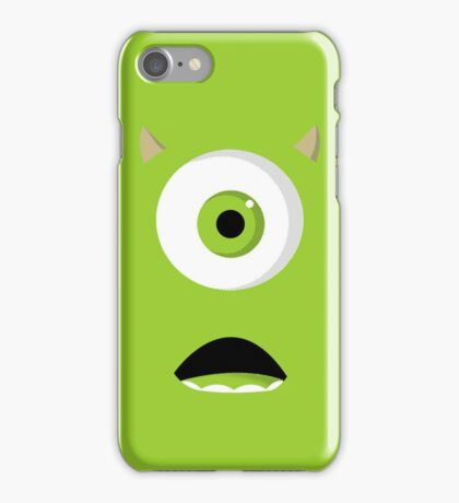 Monsters Inc - Mike  iPhone Case/Skin