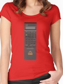 Vintage Calculator Women's Fitted Scoop T-Shirt