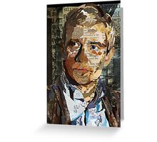 Ephemera II: John Watson Greeting Card