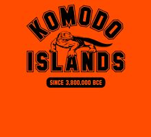 Komodo Islands Since 3800000 BCE Black Unisex T-Shirt