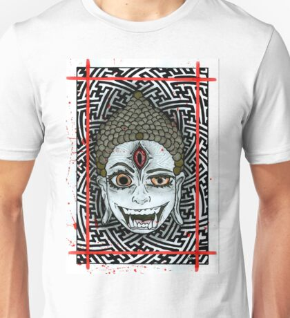 Third Eye Buddha Unisex T-Shirt