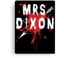 Mrs Dixon Canvas Print