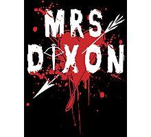 Mrs Dixon Photographic Print