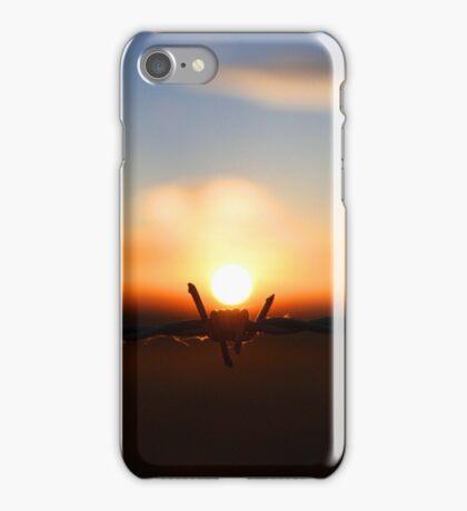 Barbed Sunrise iPhone Case/Skin