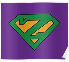 Zuperman (Secondary Colors) Poster