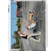 People You Know shopping cart iPad Case/Skin