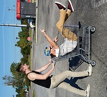 People You Know shopping cart by Discomfort SC