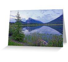 Banff Dawn Greeting Card