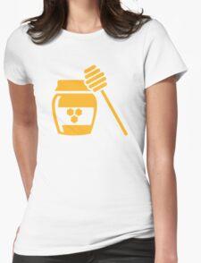 Honey Womens Fitted T-Shirt