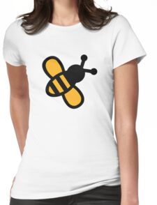 Comic bee Womens Fitted T-Shirt