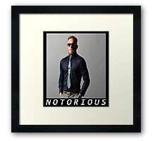 Conor McGregor Notorious Framed Print