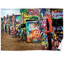 Cadillac Ranch Poster