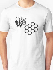 Bee honeycomb Unisex T-Shirt