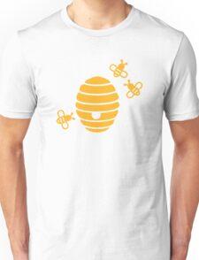 Bees honeycomb Unisex T-Shirt