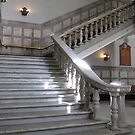 Marble Staircase, Historic City Hall, Brisbane CBD. Queensland. by Rita Blom