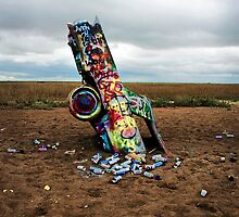 Cadillac Ranch by dustshakerphoto