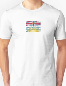 Flag of British Columbia Unisex T-Shirt