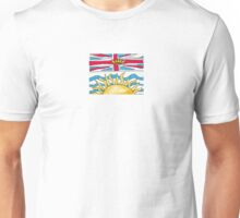 Flag of British Columbia Unisex T-Shirt