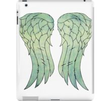 Daryl Dixon's jacket wings iPad Case/Skin
